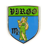 Virgo Zodiac Pin