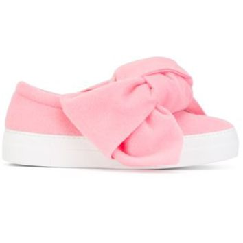 Joshua Sanders Bow Detail Slip On Sneakers - Julian Fashion - Farfetch.com