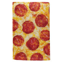 Pepperoni Pizza All Over Sport Towel