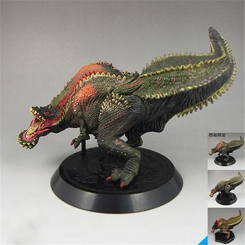 3 Style Deviljho Tyrannosaurus Dragon Figures Japan Anime Capcom Monster Hunter PVC Collectible Model Toys Boys Girls Gift D