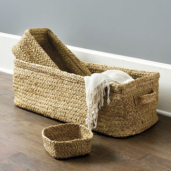 Braided Jute Baskets