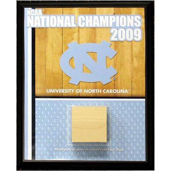 DCCKU7Q North Carolina Championship Court 8x10 Plaque