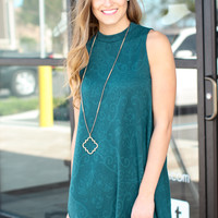 Kind Of Love Dress - Emerald