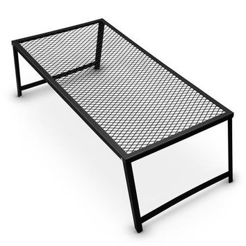 Steel Mesh Over Fire Camping Grill Gate, Family Size