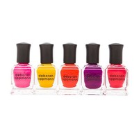 Deborah Lippmann 5 Piece Nail Lacquer Gift Set in Purple