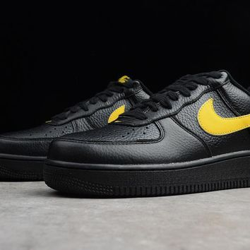 VLONE x Nike Air Force 1 07 LV8 Low Black&Yellow
