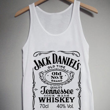 Jack Daniels for Tank Top Mens and Tank Top Girls