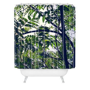 Chelsea Victoria Jungle Love Shower Curtain