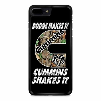 Dodge Makes It Cummins Shakes It iPhone 8 Plus Case