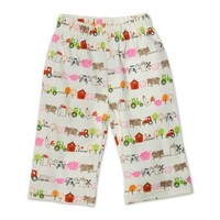 Zutano Baby Girls' Little Farm Organic Pant