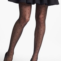 Women's Nordstrom 'Sheer Dot' Control Top Pantyhose ,