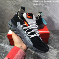 hcxx N1194 Nike React Mid WR ISPA Knit Running Shoes