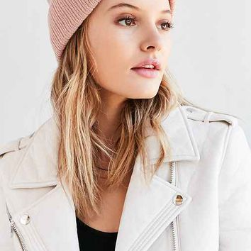 Reason Soft Ribbed Beanie