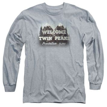 Twin Peaks - Welcome To Long Sleeve T-Shirt | TeeShirtPalace