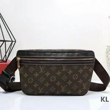 LV Leather Handbag Pockets Bag Crossbody Satchel Shoulder Bag I-LLBPFSH