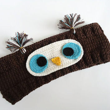 Baby headbands Owl Toddler headband Owl Baby girl headband Kids headband Girls knit Cute Children Hair Band Great for gifting