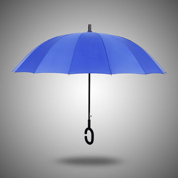 Stylish Strong Character Creative Design Wind Resistant Umbrella [4918248580]