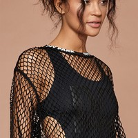 Ivy Park Long-Sleeved Mesh Top at PacSun.com