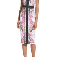 Ted Baker London Painted Posie Sheath Dress | Nordstrom