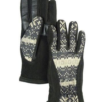 Isotoner Women's SmarTouch Invisible Technology Matrix Gloves - Violet