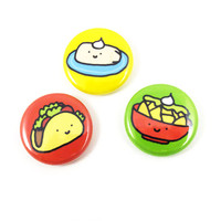 Fiesta Food Button Set