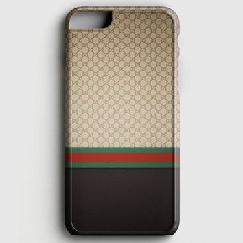Gucci Designer Label Patterns Wall iPhone 8 Case