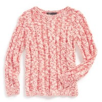 Girl's Vince Cable Knit Sweater,