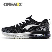 onemix Free Men Women Air Running Shoes for Men Air Brand 2016 Women Sport Sneaker Breathable Mesh Athletic Outdoor Chusion Shoe