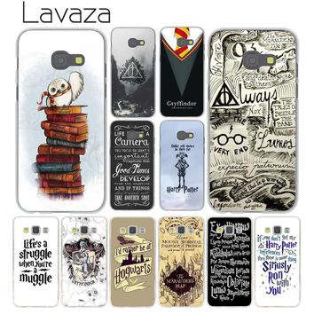 Lavaza always Harry Potter Deathly Phone Case for Samsung Galaxy A6 A8 Plus 2018 A5 A3 2017 2016 2015 Grand Prime Note 9 8 Cover