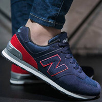 New Balance men's fashion casual shoes men and women N-shaped shoes