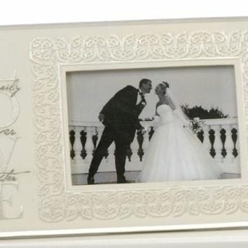 2 Wedding Picture Frames - Gift Box Included