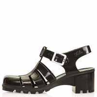 NINA Jelly Sandals - Black