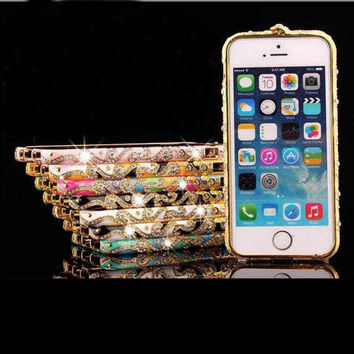 iPhone Ethnic Inspired Crystal Phone Shell Cover
