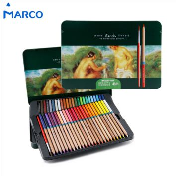 Marco Watercolor Pencils Tin Box