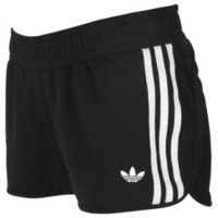 adidas Originals 3 Stripes French Terry Short - Women's at Foot Locker