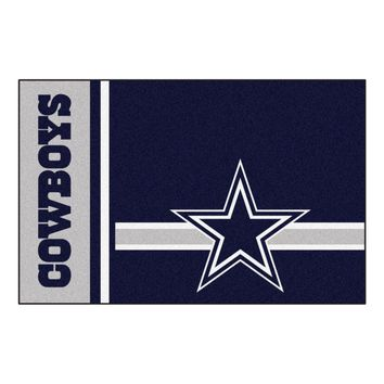 FANMATS Dallas Cowboys Uniform Jersey Inspired Starter Rug