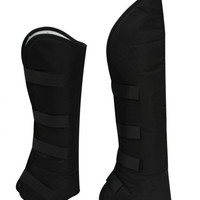 Black Shipping Boots