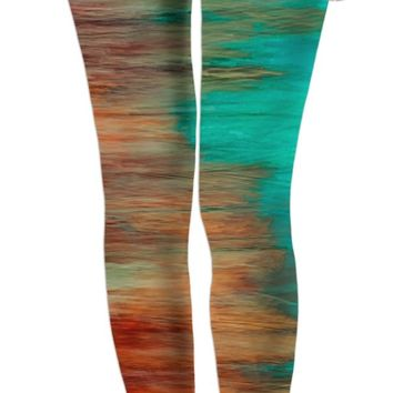 ROWL Painted Striped Leggings