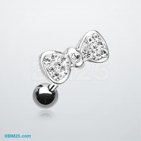 Tiffany Bow Tie Cartilage Earring