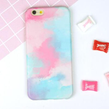 Tie-Dyed Case Cover for iPhone 6 6s Plus Gift 22