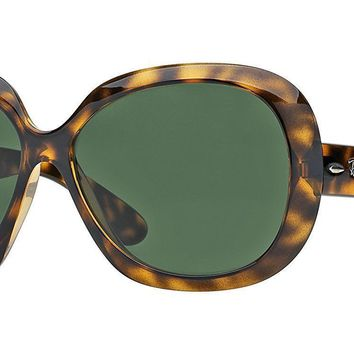 New Ray-Ban Womens RB4098 Jackie Ohh ll Tortoise Frame Sunglasses