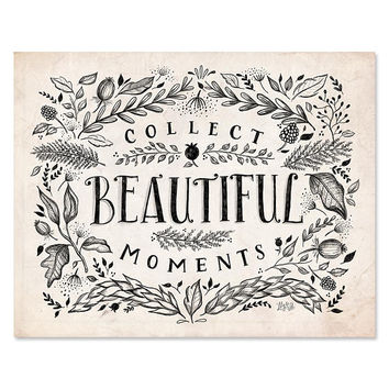 Neutral Collect Beautiful Moments - Print