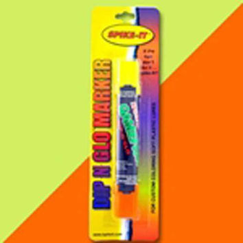 Spike It Scented Double Marker Gamefish Chart-Orange