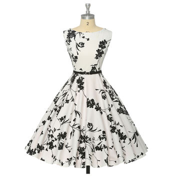 Women Vintage Retro 50s 60s Dress/Swing Sexy Party Dress