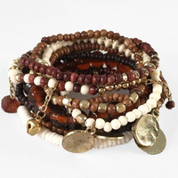 Natural Territory Multi Bracelet Set