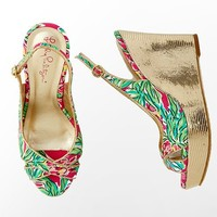 Lilly Pulitzer - Ginger Wrap Wedge Print