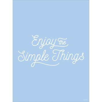 Simple Things Print
