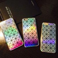 Laser Transparent Gradient Case for iPhone