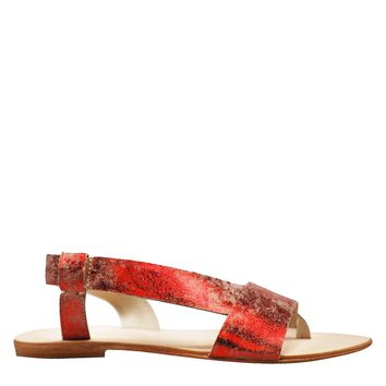 Free People Under Wrap Sandal Women's - Red