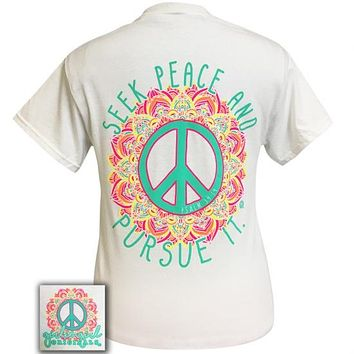 Girlie Girl Originals Preppy Seek Peace T-Shirt